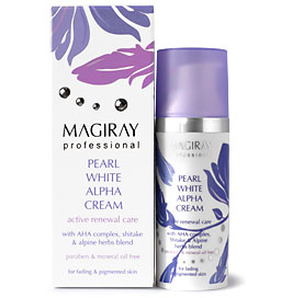 Magiray Pearl White Alpha Cream