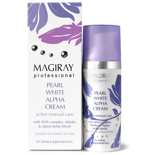 Magiray Pearl White Alpha Cream