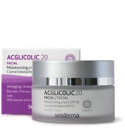 Увлажняющий крем sesderma ACGLICOLIC 20 Moisturizing Cream SPF15