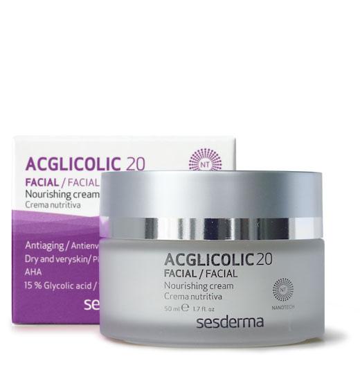 SesDerma  ACGLICOLIC 20Nourishing Cream
