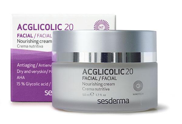 Питательный крем SesDerma ACGLICOLIC 20 Nourishing Cream
