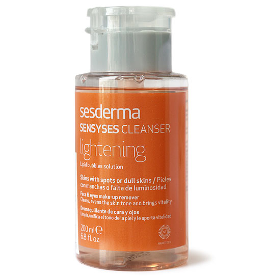 Осветляющий лосьон для снятия макияжа SesDerma SENSYSES Cleanser Lightening