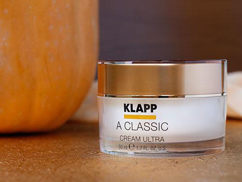 Крем KLAPP с витамином А обеспечивает комфорт для зрелой кожи в течение всего дня