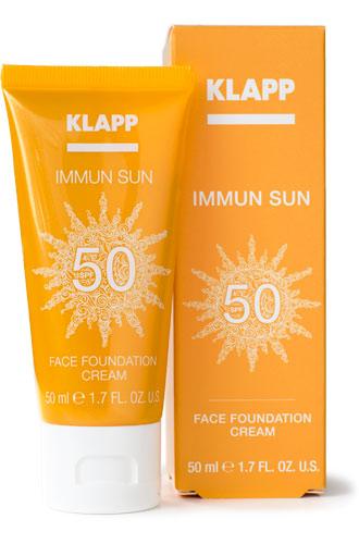 Klapp Immun Sun Face Foundation Cream SPF50