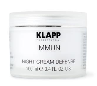Ночной крем для лица Klapp Immun Night Cream Defense